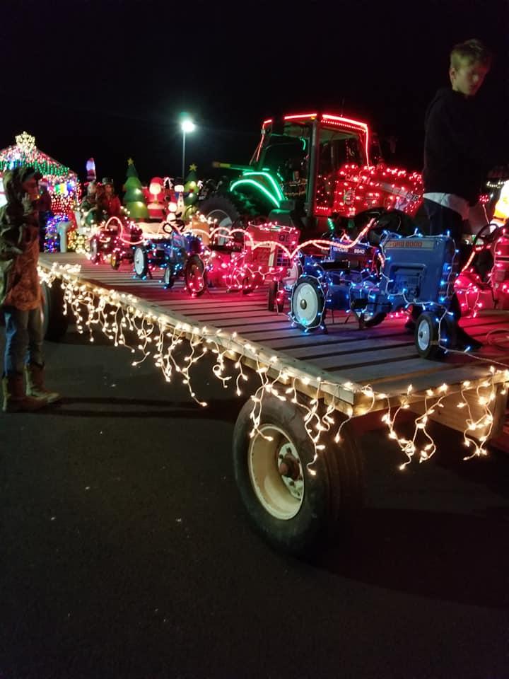 Ansonia Ohio Lighted Christmas Parade 2019